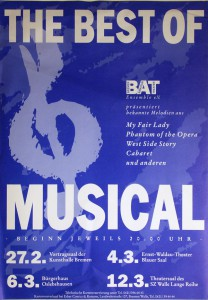 Best of Musical (1993) Plakat