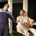 Kumpels beim Plausch: Valerio und Leonce